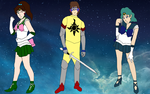Armored Saint's Senshi Team by LeoStar0012