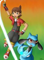 -PKMN- Ranger and the Riolu by pdutogepi
