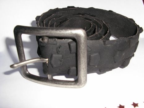Recycled Bike Tyre Belt by Marroon