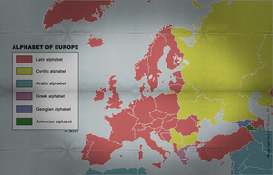 Alphabet of Europe by AY-Deezy