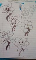 Flowey The Flower by MadameDellamare