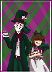 RQ: Alice and the Mad Hatter by aronora