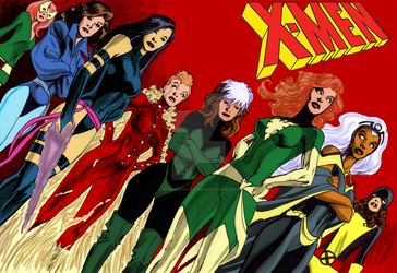 Women of The X-Men by Alan Davis by markdominic