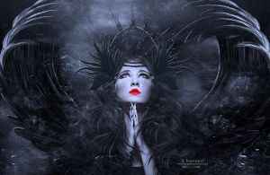 Black Angel by annemaria48