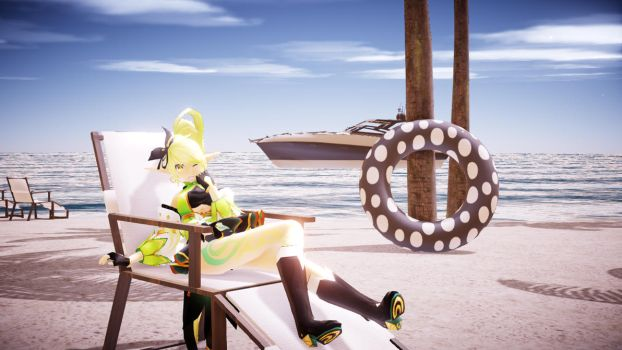 [MMD Elsword] Relaxing Time 2 by Luminastre