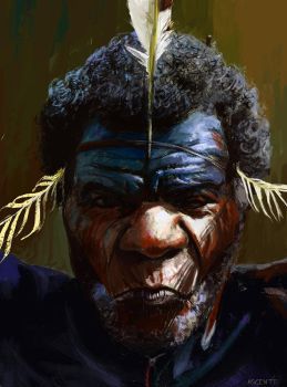 African-man-facebook by MatteoAscente