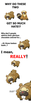 Bidoof: Registered Badass by Tayzonrai