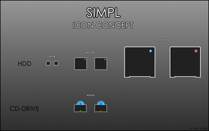 SIMPL Icon Concept by Qazar