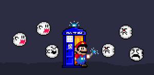 Doctor Who? Mario! by Lee-Scion