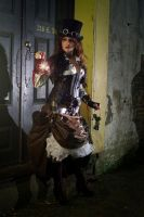 steampunk fashion 10 by DizyDezi