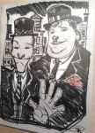 Stan Laurel and Oliver Hardy by DenisM79