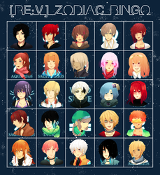 ReV - Zodiac Bingo by YenKin