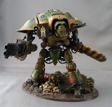 Green Imperial Knight by Rogue428