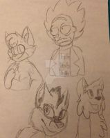 Sketch requests! by Iciclefeather