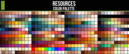 Color Palette Resource by CGCookie
