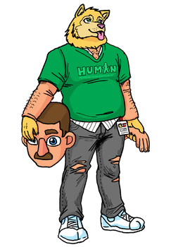Trevor the Human by Shabazik