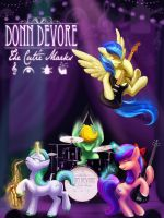 Donn DeVore and The Cutie Marks by Shadowwolf