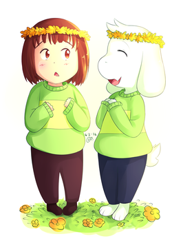 Flower Crowns by Lucky-Sonic-77-d