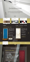 Website with interior e-shop by petrsimcik