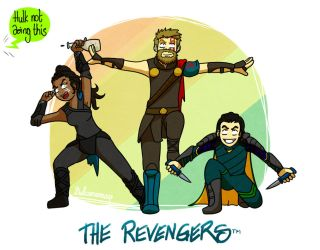 The Revengers Ginyu style by Dulcamarra