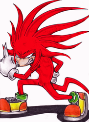 Hyper Knuckles Berserker Rage by Super-Knuckles