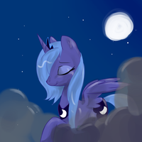 Princess Luna by Takibaby