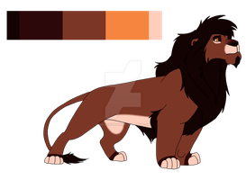 Lion Adopts 39 [CLOSED] by servicedrone