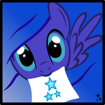 Emerald's Icon - Blue Star (Request) by LR-Studios