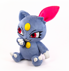 Sneasel Plush by caffwin
