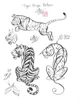 Draw a Tiger 2 by Diana-Huang