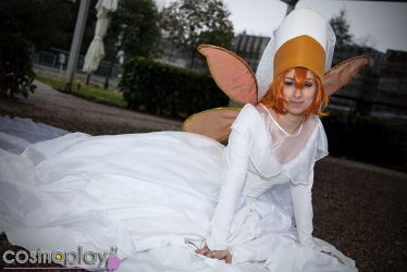 Thumbelina Wedding Gown by piperina