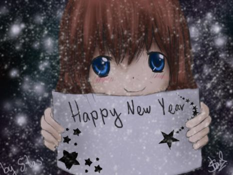 Happy New Year by Crazy-Anime-Fan
