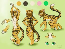 Tamara Tigress Character Sheet by SilentRavyn