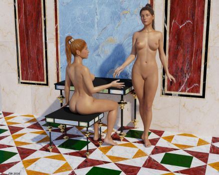 Quadrati Girls by Modele-Citizen