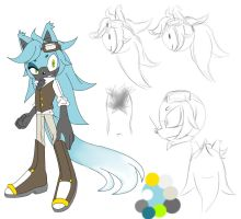 {Sonic fc} Ramsey the wolf by BlondeSpirit