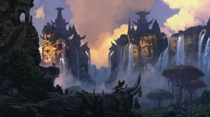 The Abode of Harpies Hunters by Sergey82M