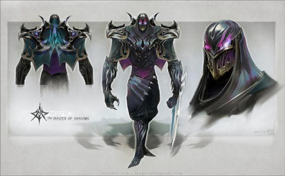Zed, the Master of Shadows by eoinart