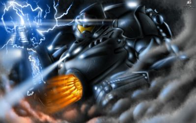 Gipsy Danger of Pacific Rim by Unreal-Forever