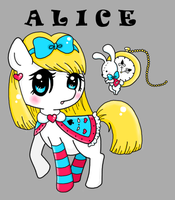 Alice In Ponyville by Minessa