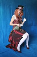 Lady Mad Hatter 8 by mizzd-stock