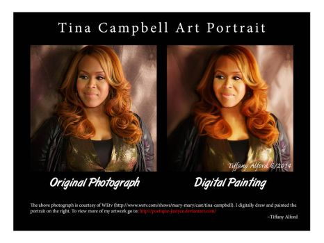 Tina Campbell Comparison by CreationsByTiffany