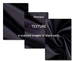 - TEXTURE - black satin by Von-Chan