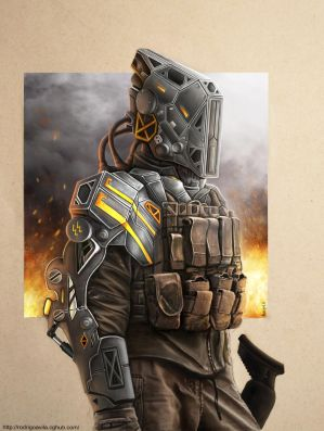 Future Soldier by Rodrigo-Sanches-A