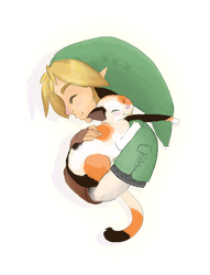 When Link Holds Cats... by britgorlicki