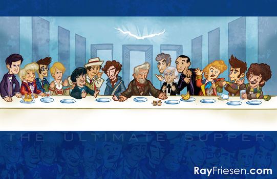 Doctor Who The ULTIMATE SUPPER! by raisegrate