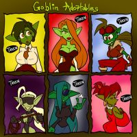 Goblin Adoptables SOLD OUT by JonFreeman