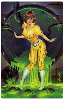 April O'Neil by Elias-Chatzoudis