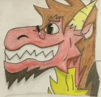 Derp-6000 (pencil colored) by LightningShadow7736