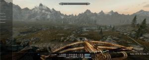 Ricks Custom Skyrim Skin Ultrawide by mickeyaaaa