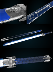 Exorcist Sword by Olotocolo